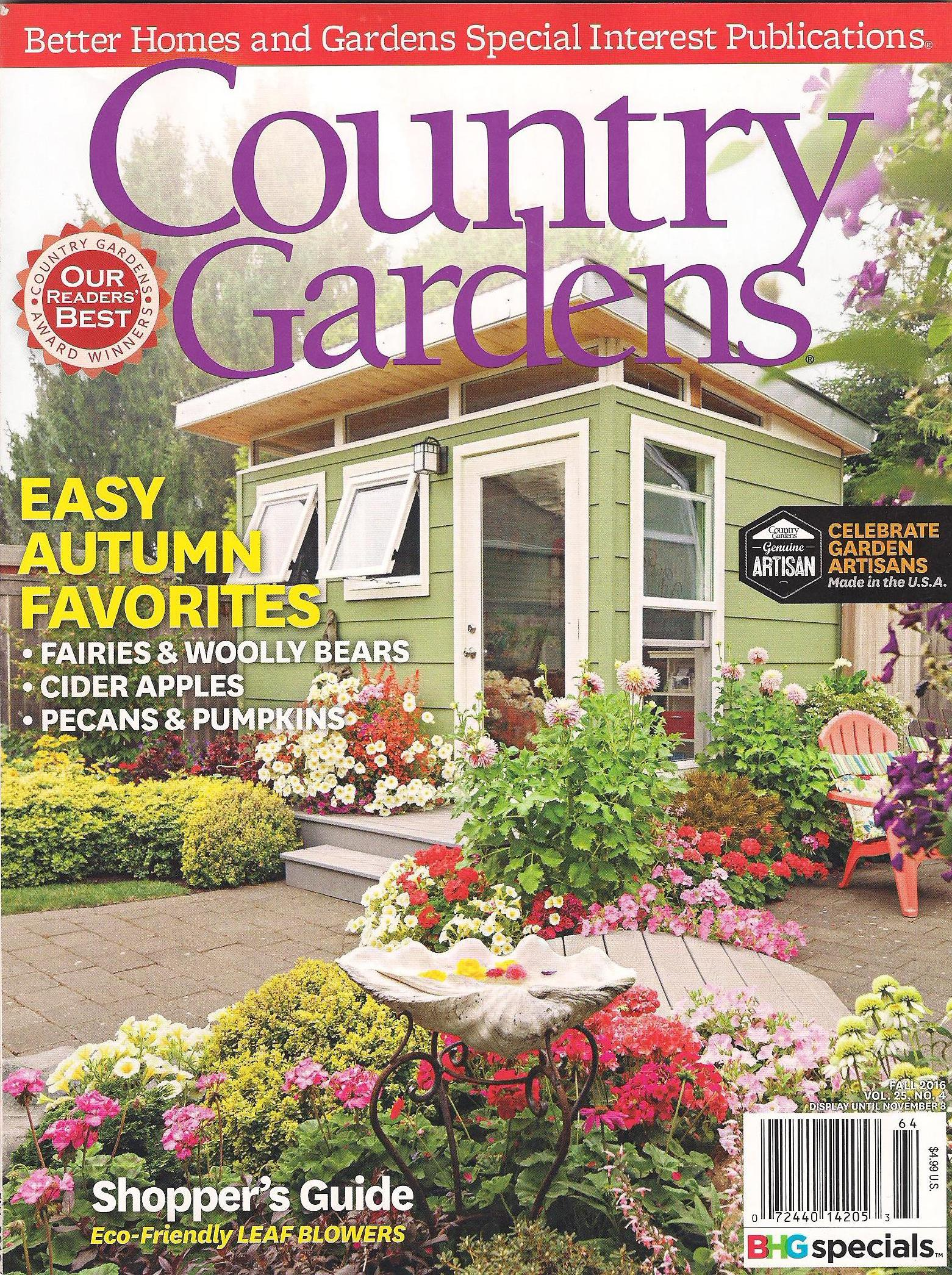 Ardens Specialty Publication.) And Wow, It Was Worth The Wait! We Knew Our  Garden Would Be In The Publication, But We Wondered If Weu0027d Just Have A  Short ...